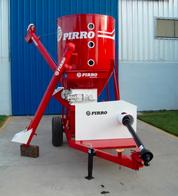 Quebradora y mezcladora vertical de cereales Pirro JP 9600